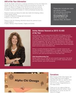 2015 Alpha Chi Omega Newsletter_Digital_Update
