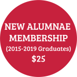 New Alumnae 2015-2019 Graduates