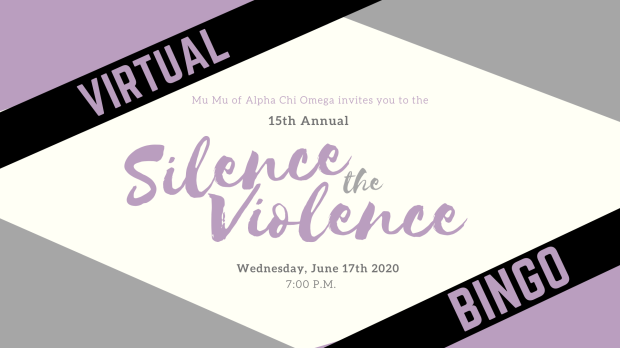 You're invited to the 15th Annual Silence the Violence Virtual Bingo Event